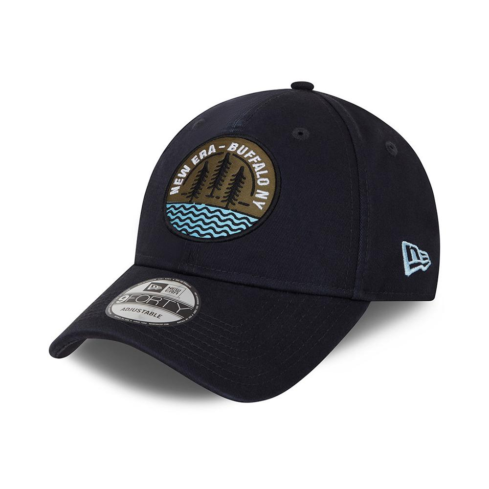 New Era - Outdoor Camp Patch 9Forty - Adjustable - Navy