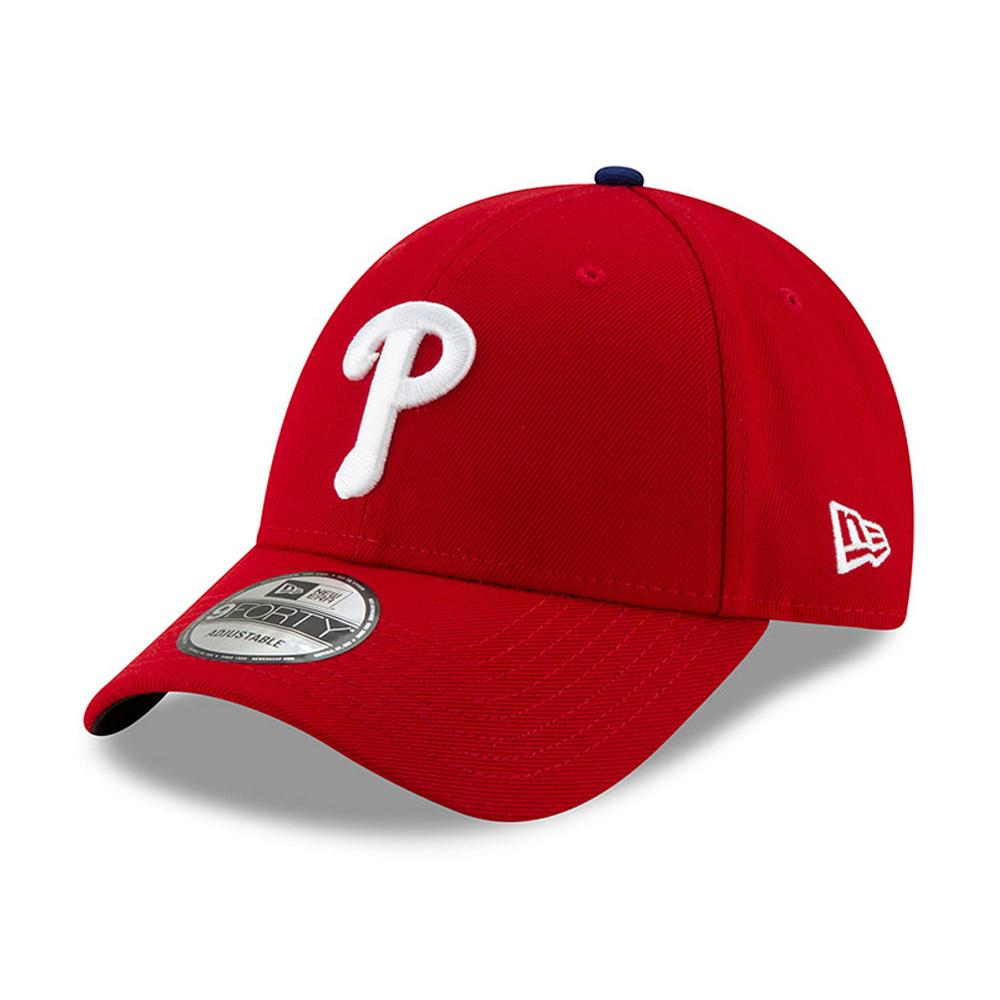 New Era - Philadelphia Phillies 9Forty The League - Adjustable - Red