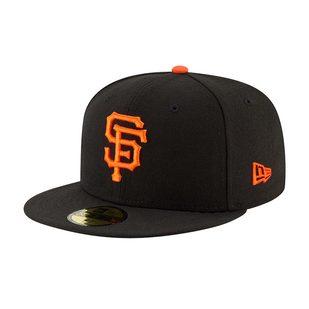 New Era - San Francisco Giants 59Fifty Authentic - Fitted - Black/Orange