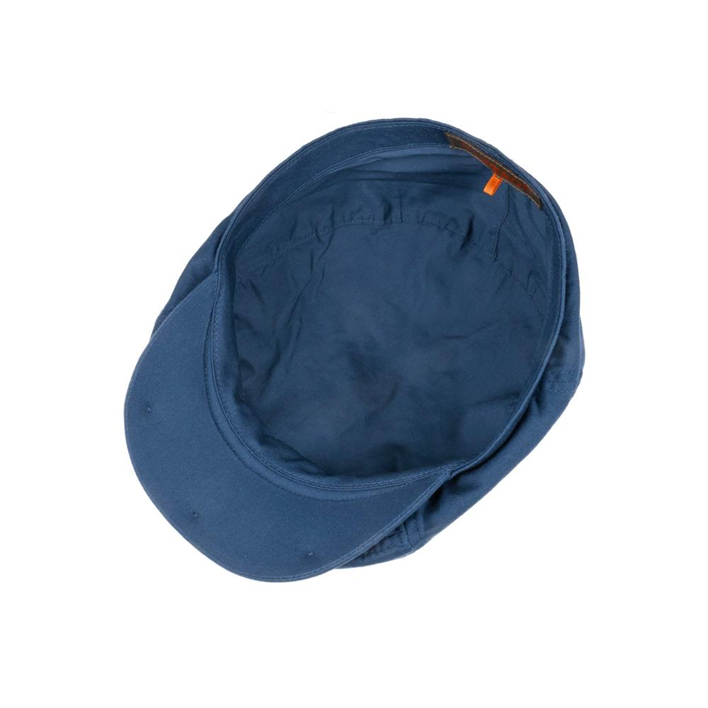 Stetson - 6 Panel Cotton Twill - Sixpence/Flat Cap - Navy