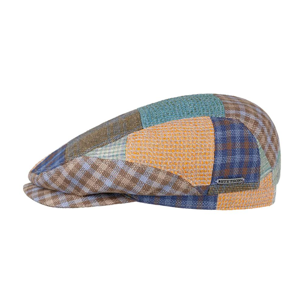 Stetson - Clanton Patchwork - Sixpence/Flat Cap - Mixed Colours