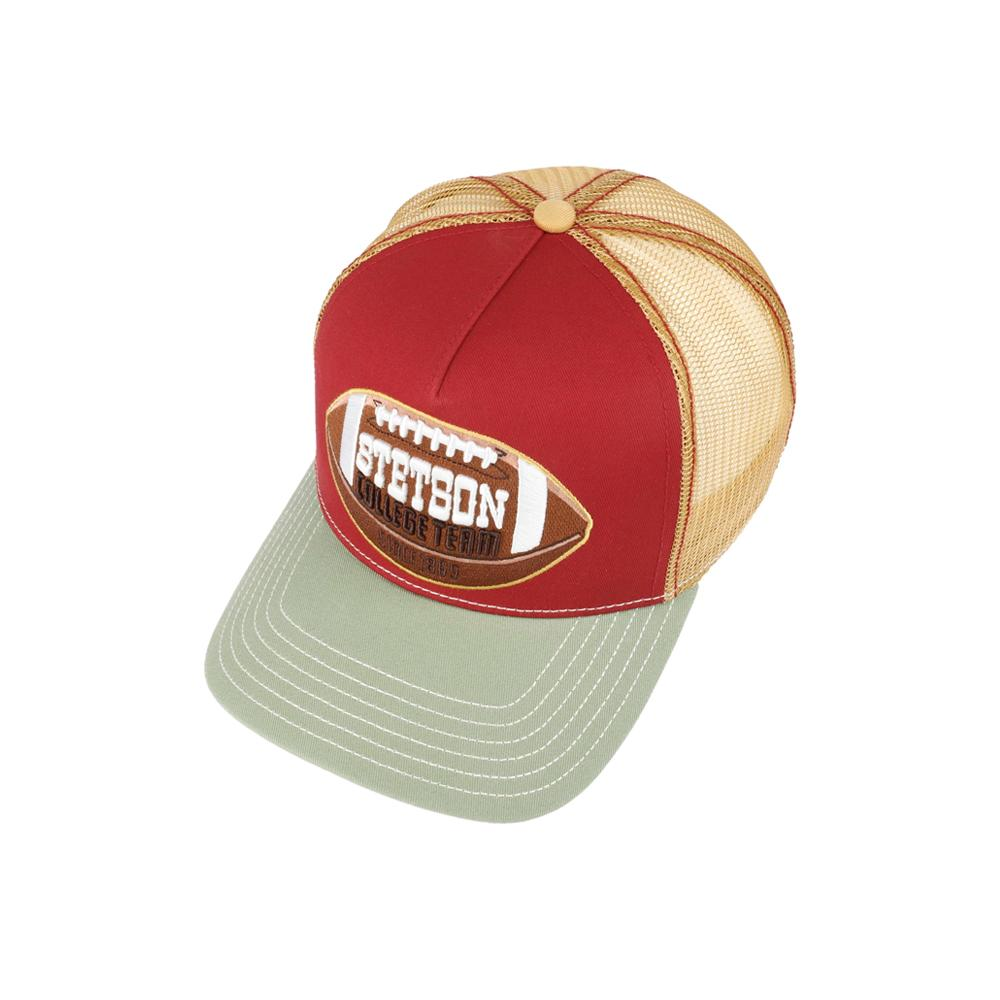 Stetson - College Football - Trucker/Snapback - Red/Gold/Grey