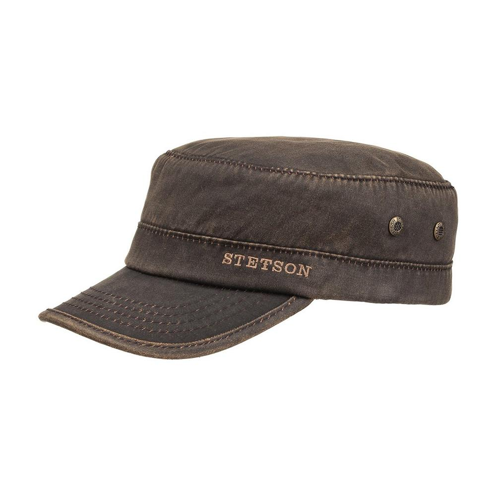 Stetson - Datto Winter Army Cap - Brown