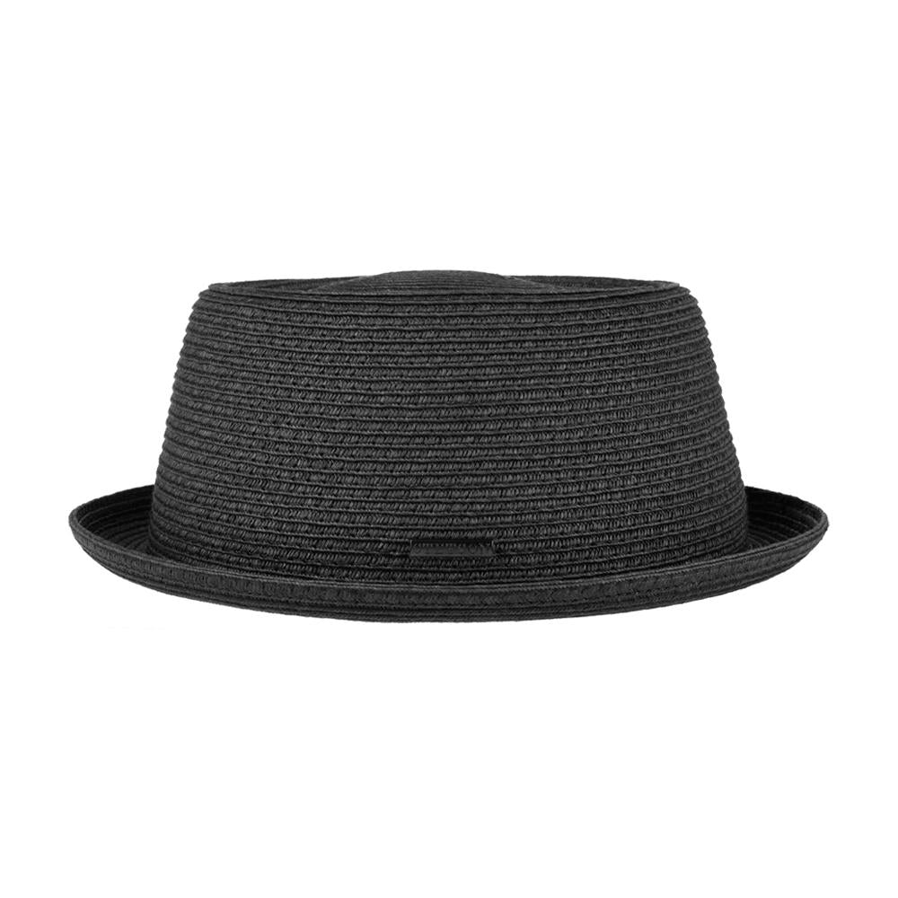 Stetson - Dawson Pork Pie Toyo - Straw Hat - Black