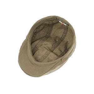 Stetson - Ivy Cap Delave - Sixpence/Flat Cap - Olive