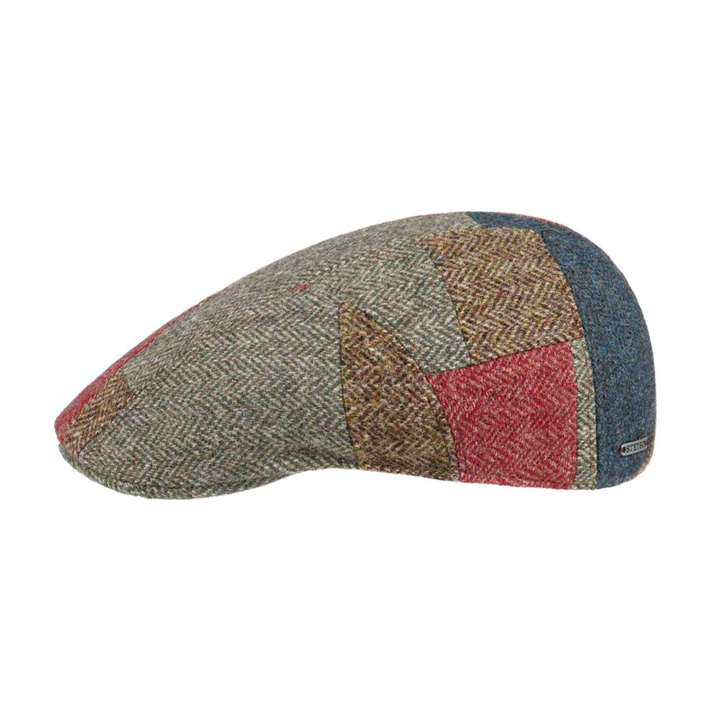Stetson - Ivy Cap Pipestone Patchwork - Sixpence/Flat Cap - Mixed Colours
