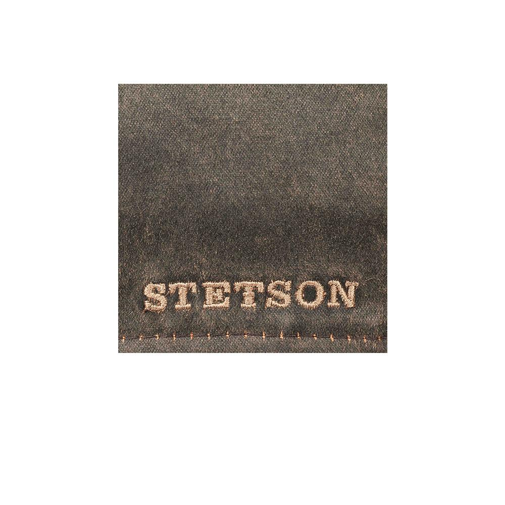 Stetson - Level Gatsby - Sixpence/Flat Cap - Brown