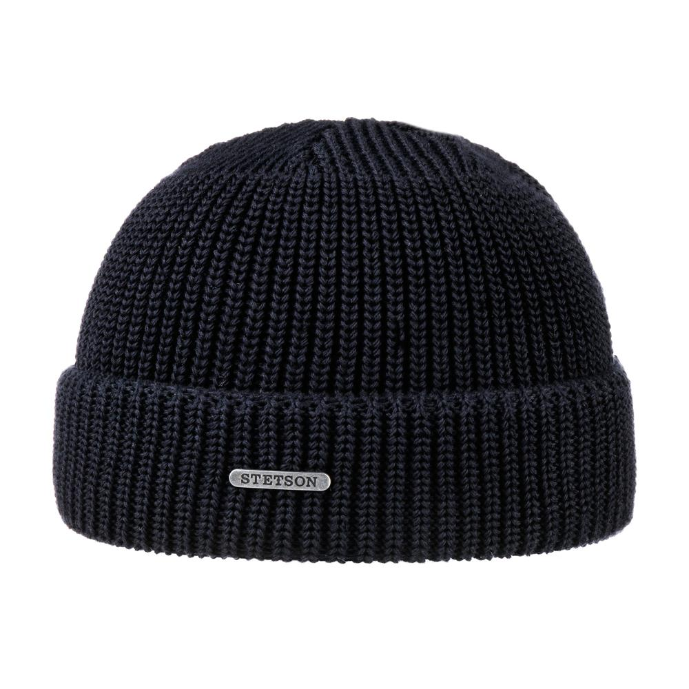 Stetson - Max Cotton - Beanie - Navy