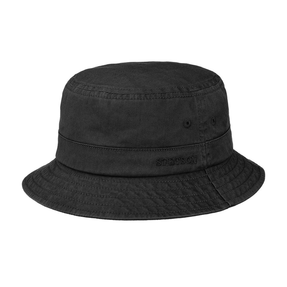 Stetson - Protection Cotton Twill - Bucket Hat - Black