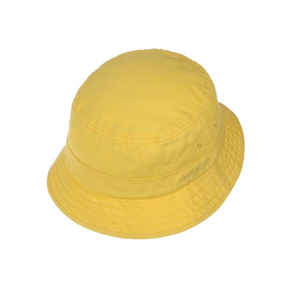 Stetson - Protection Cotton Twill - Bucket Hat - Yellow