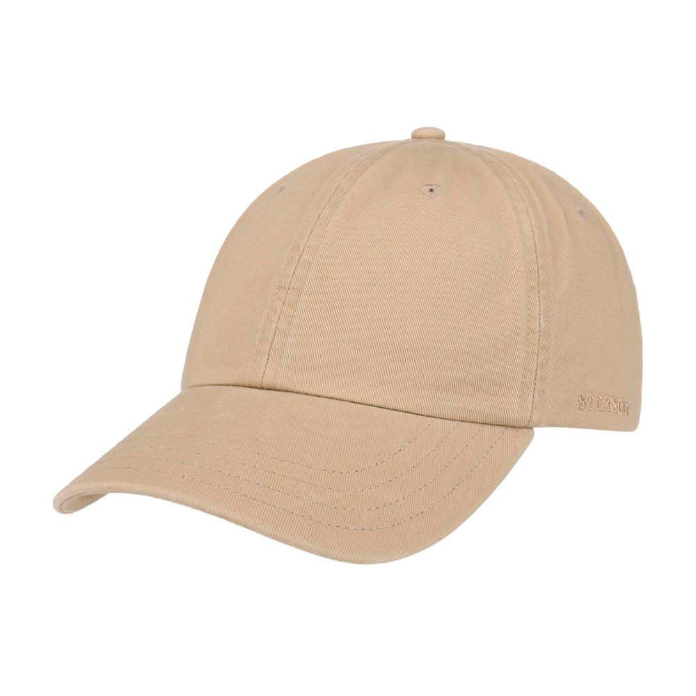 Stetson - Rector Baseball Cap - Adjustable - Dark Beige