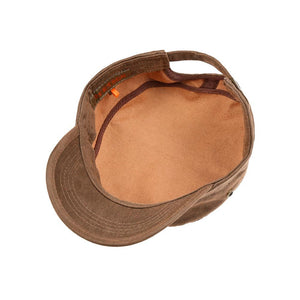 Stetson - Stampton Army Cap - Adjustable - Brown