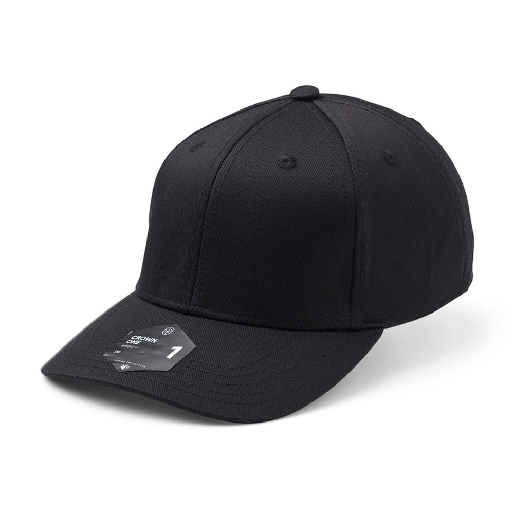 Upfront - Crown 1 - Flexfit - Black