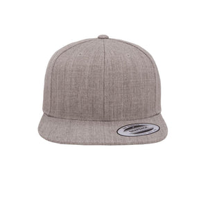 Yupoong - Classic - Snapback - Heather Grey