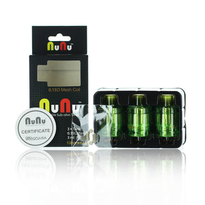 Sikary Vapor NuNu Disposable Sub-Ohm Tank (Pack of 3)
