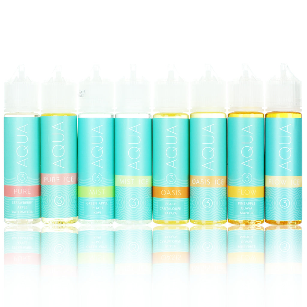 Marina Vapes Aqua Collection 60ml Vape Juice
