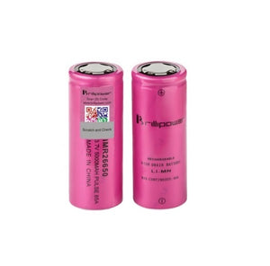 Brillipower IMR 26650 5000mah 85A