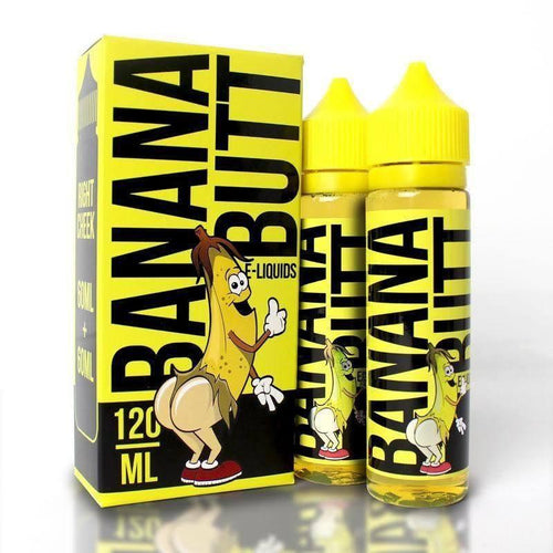 Fryd Banana Butt 120ml Eliquid Collection Right Cheek 3MG