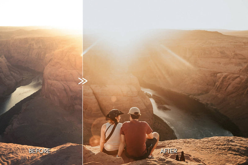 DESERT BABE Outdoor Travel Portrait Lightroom Presets for Desktop & Mobile - One Click Photographer Editing Tools