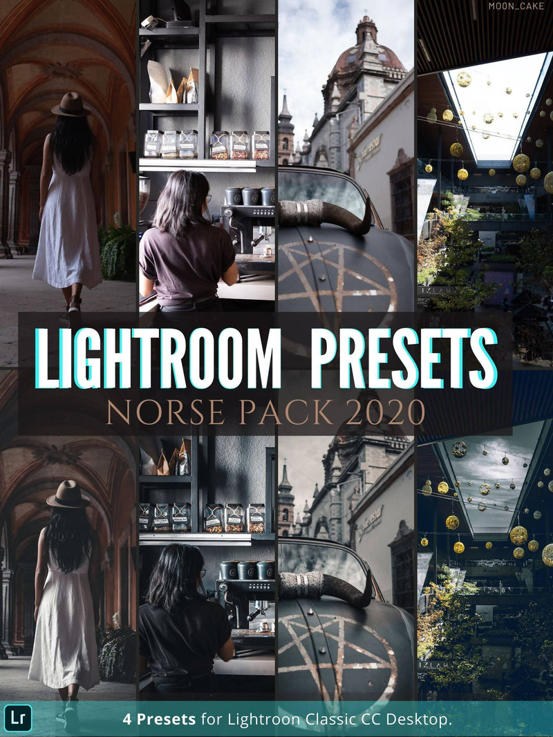 Norse Pack 4 Desktop Lightroom Presets | Mo0n Cake Lightroom Presets mo0n_cake