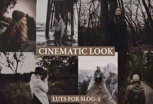 Cinematic LUTs for Videos on SLOG3 LUTS Thiago Vibesp
