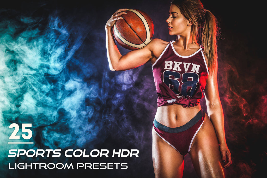25 Sports Color HDR Lightroom Presets