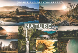 Cinematic Nature & Landscape | Desktop & Mobile Lightroom Presets Lightroom Presets Thiago Vibesp