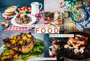Cinematic Food Desktop & Mobile Lightroom Presets Lightroom Presets Thiago Vibesp