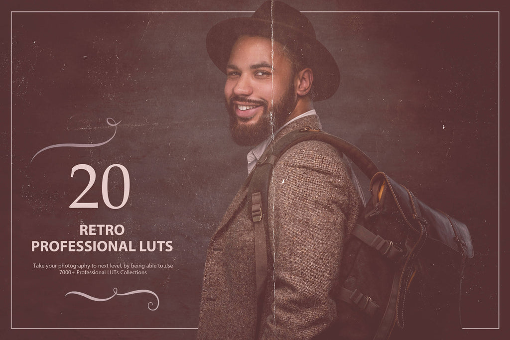 20 Retro LUTs Pack