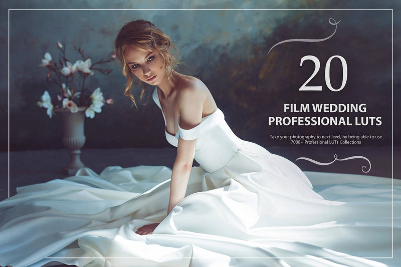20 Film Wedding LUTs Pack