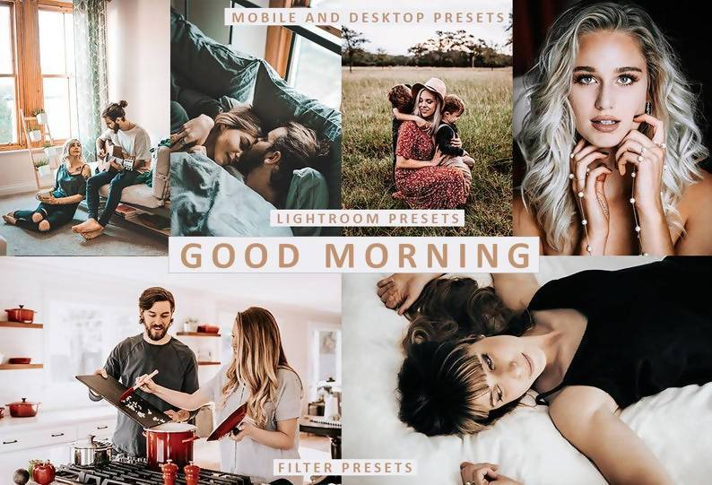 Cinematic Good Morning Desktop & Mobile Lightroom Presets Lightroom Presets Thiago Vibesp