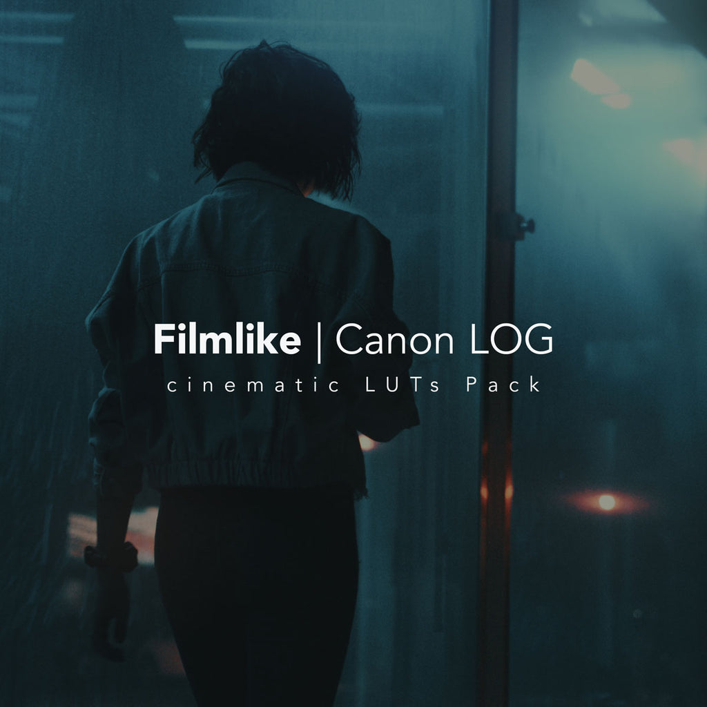 Film Like / Canon LOG LUT LUTS Filippo Cinotti