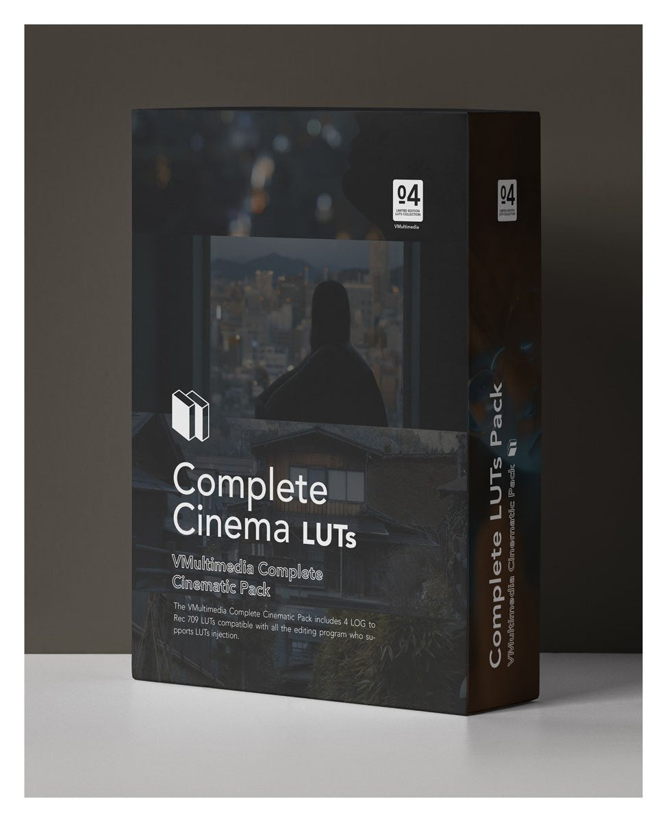 Complete Cinema LUT Pack LUTS Filippo Cinotti