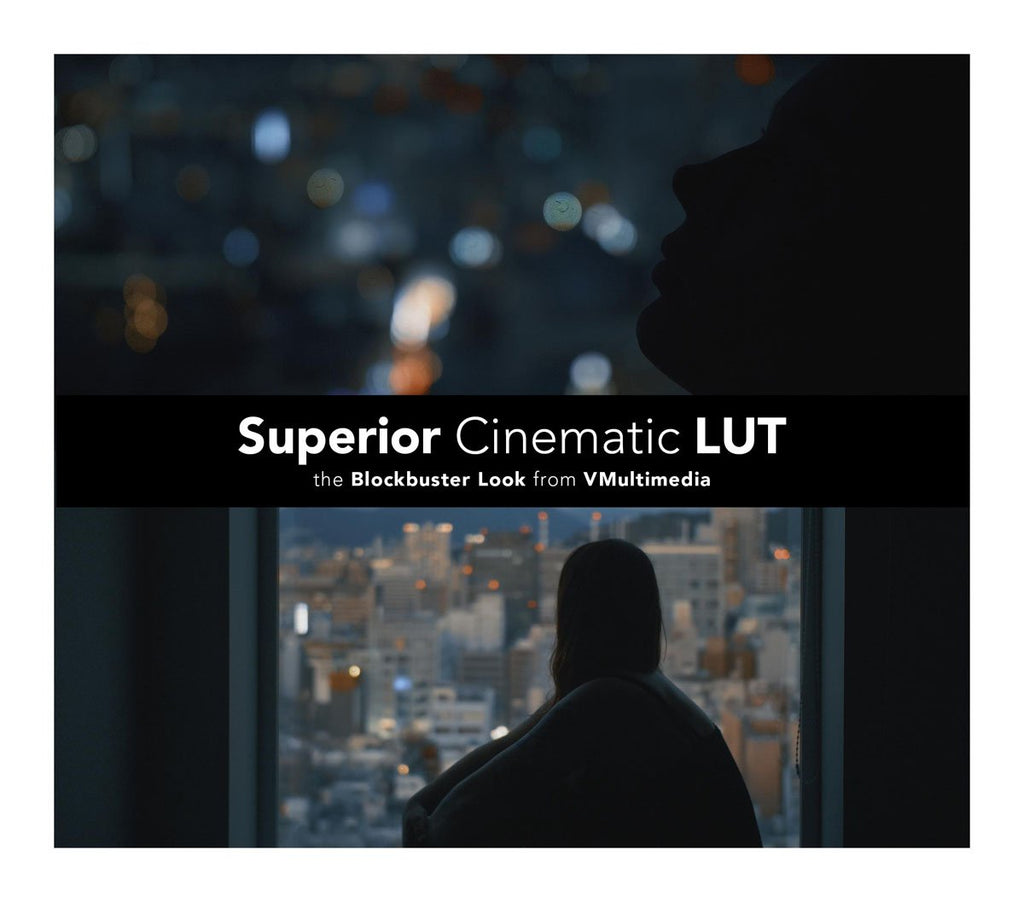Superior Cinematic LUT LUTS Filippo Cinotti