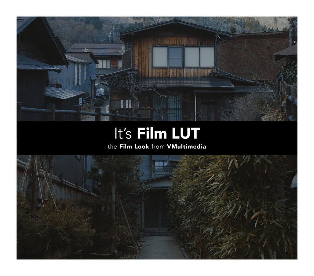 It's Film LUT LUTS Filippo Cinotti