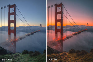 Sunset Lightroom Presets by Presetsh