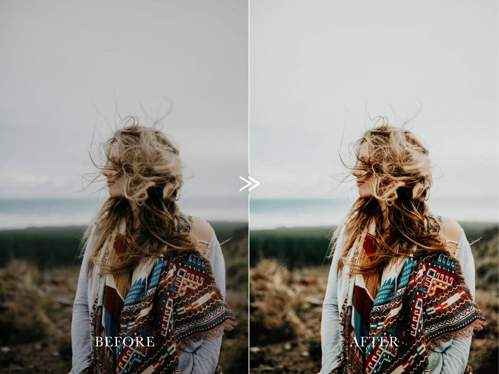 Moody Vibrant ADVENTURE AWAITS Lightroom Presets Pack for Desktop & Mobile