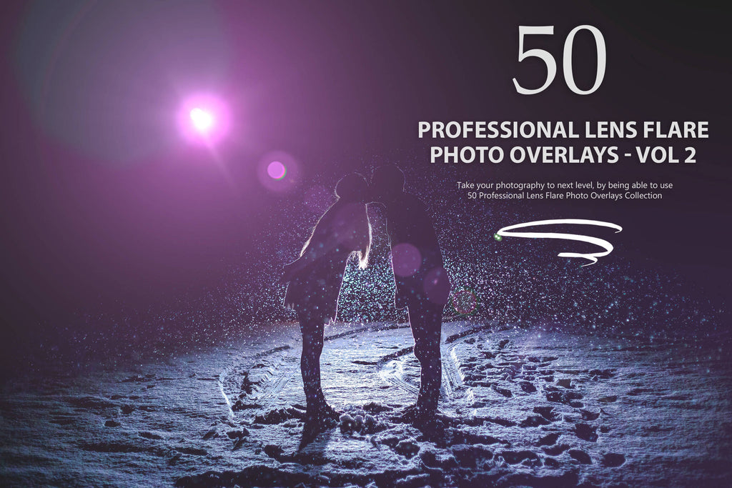 50 Professional Lens Flare Overlays - Part 1
