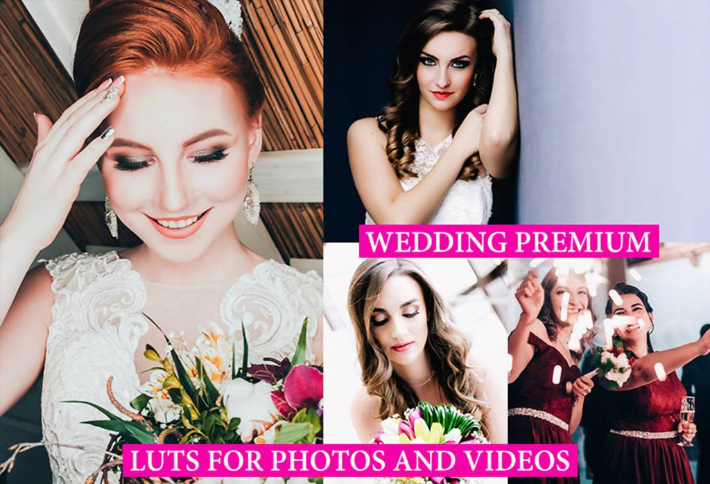 Cinematic WEDDING FILM LUTs for Photo and Video (rec.709) LUTS Thiago Vibesp