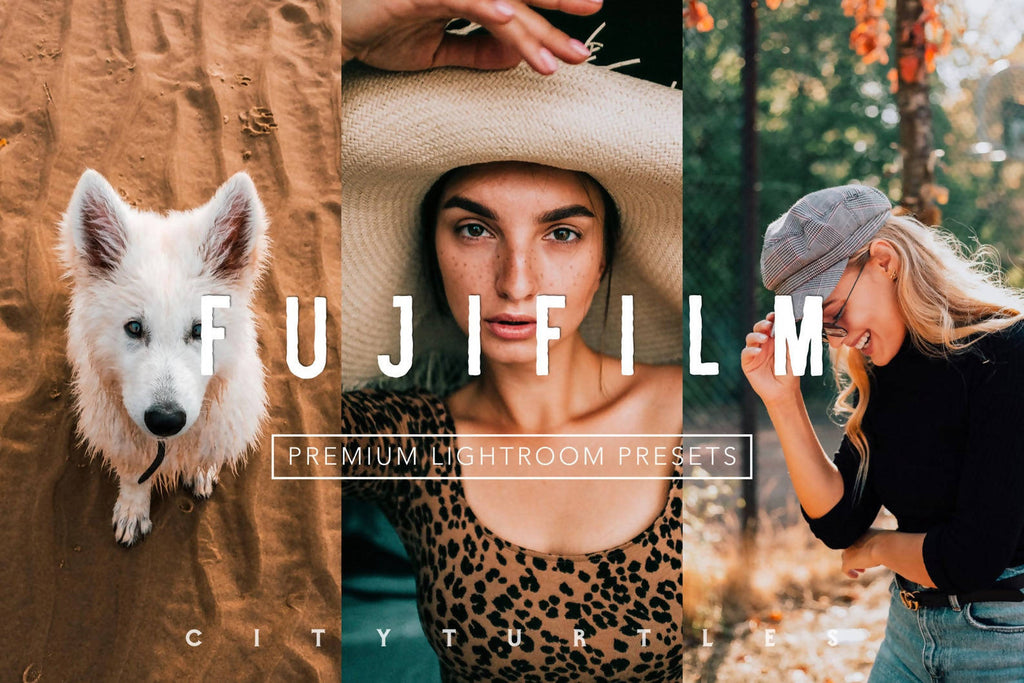 Bright Vibrant FUJIFILM Lightroom Presets Pack for Desktop & Mobile