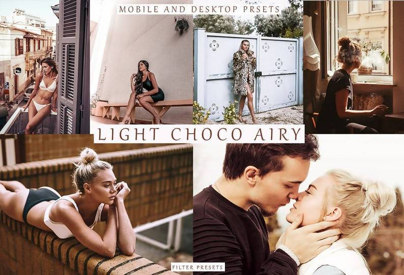 Light Choco Desktop & Mobile Lightroom Presets Premium Lightroom Presets Thiago Vibesp