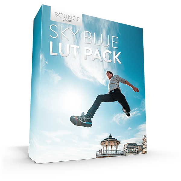 Sky Blue LUT Pack LUTS Bounce Color