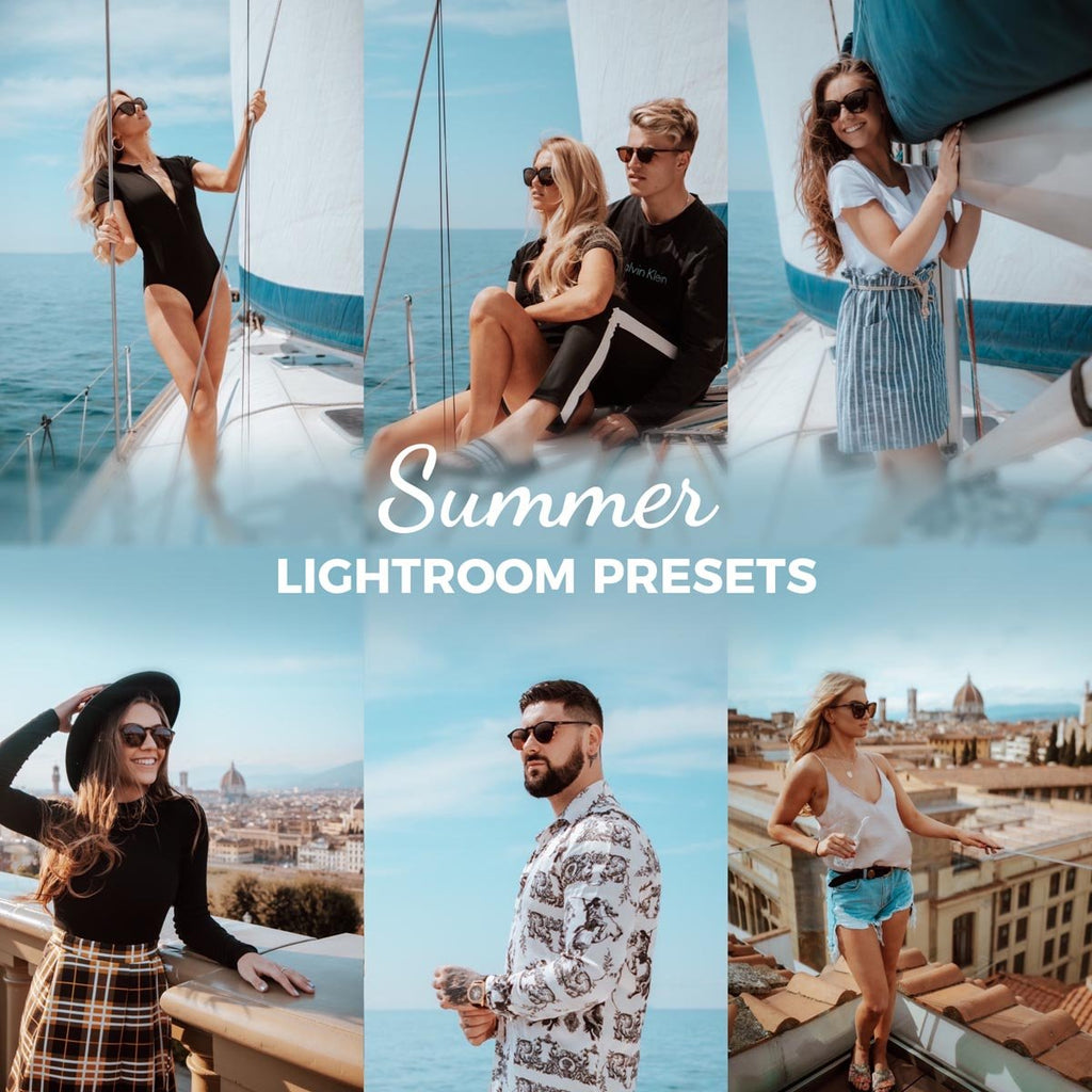 Summer Lightroom Presets | Mobile & Desktop Lightroom Presets Bounce Color