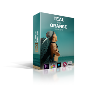 Teal and Orange LUT Pack LUTS Visuals Kingdom