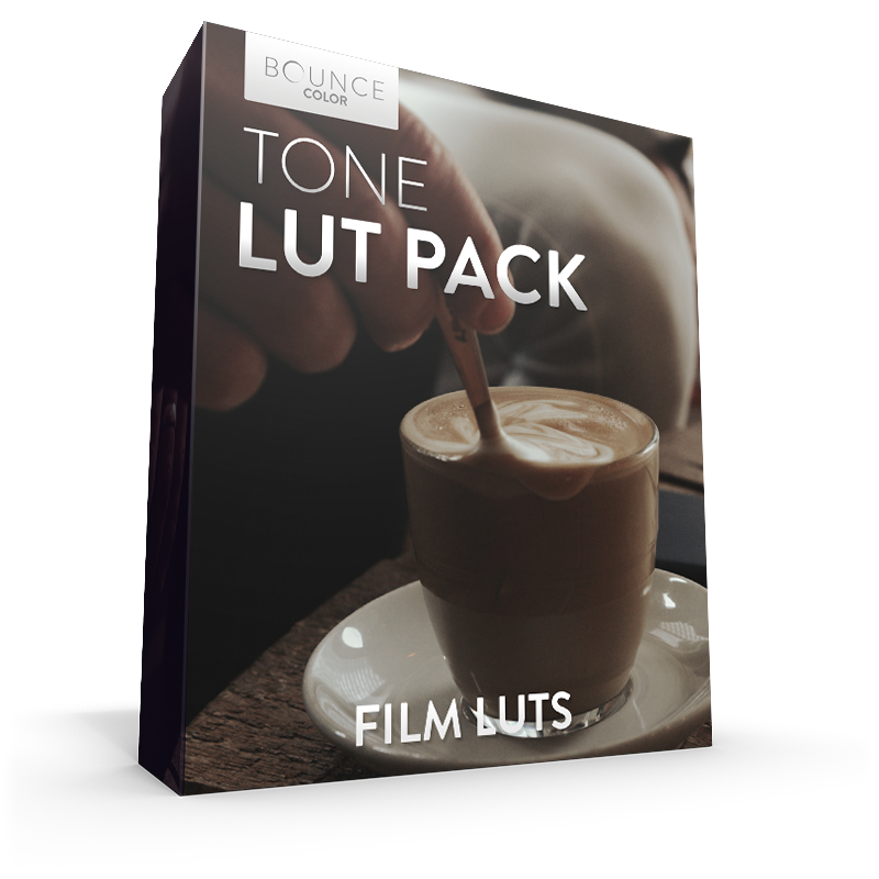 Filmic Tone LUTs LUTS Bounce Color