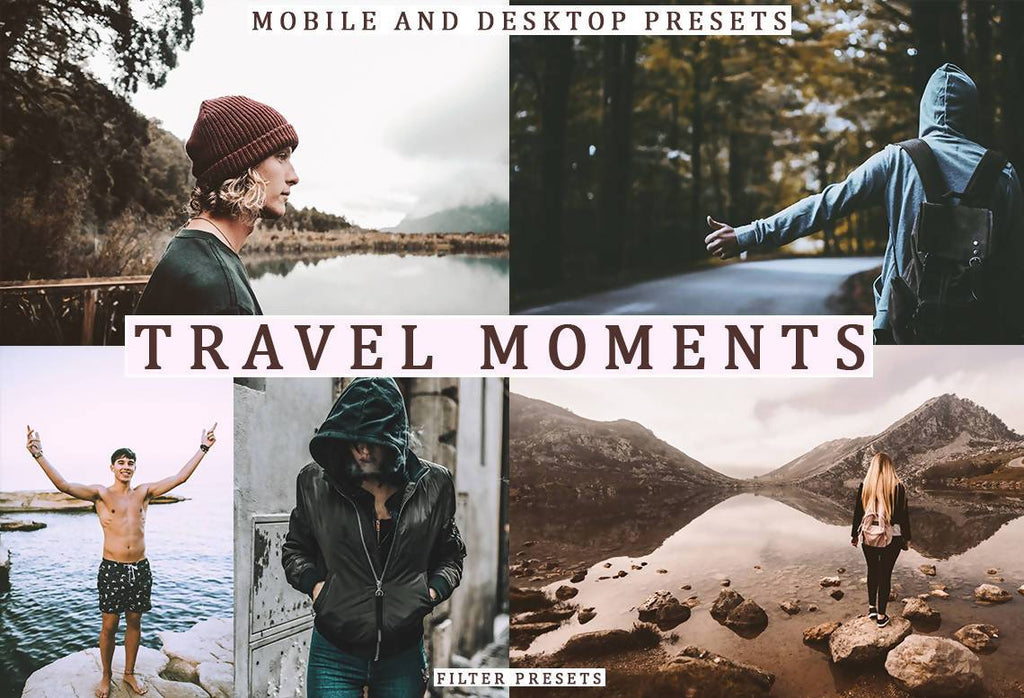 Cinematic Travel Moments Desktop & Mobile Lightroom Presets Lightroom Presets Thiago Vibesp