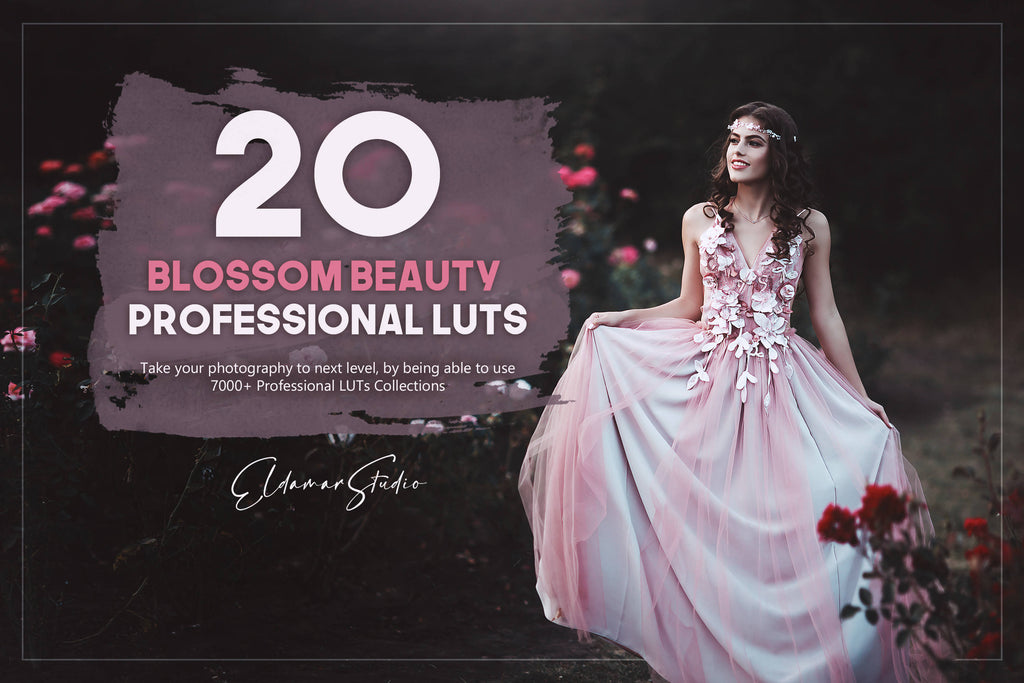 20 Blossom Beauty LUTs Pack
