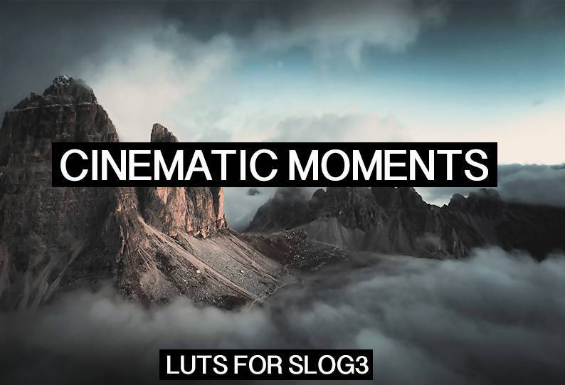 Premium Cinematic LUTs for Videos on SLOG3 LUTS Thiago Vibesp