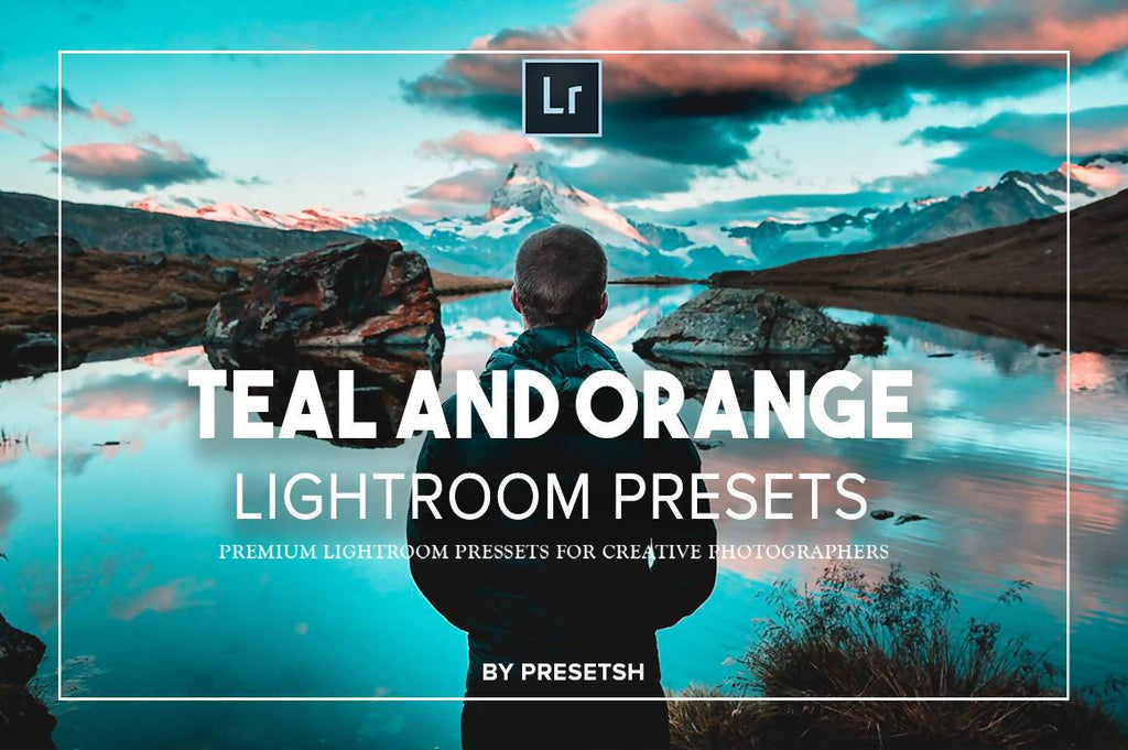 Orange & Teal Lightroom Presets by Presetsh Lightroom Presets Presetsh