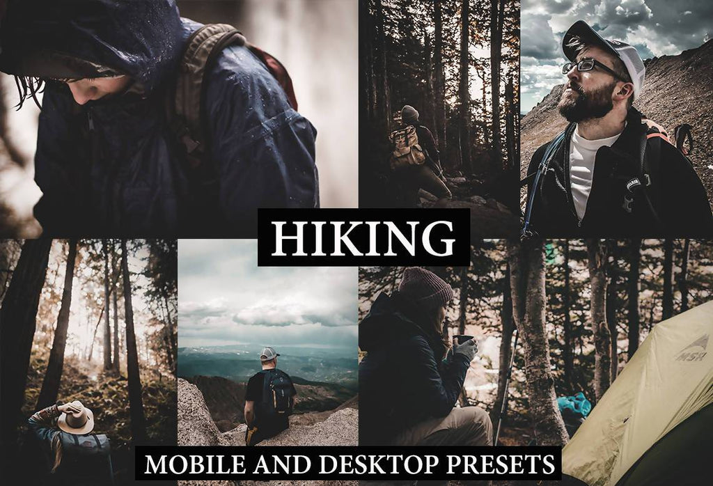 Cinematic Hiking Desktop and Mobile Lightroom Presets Lightroom Presets Thiago Vibesp